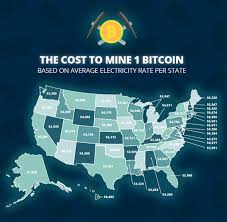 Search bitcoin atms around the world. In One Chart Here S How Much It Costs To Mine Bitcoin In Your State Marketwatch