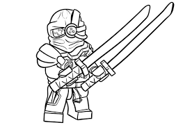 Free printable ninja coloring pages. Evil Green Ninja Coloring Page Free Printable Coloring Pages For Kids