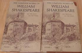 william shakespeare s works the complete works of william shakespeare two volumes arranged in