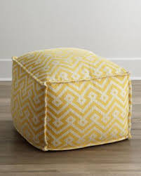 yellow pouf ottoman. Contemporary Pouf On Yellow Pouf Ottoman