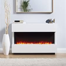 Electric Fireplace Modern Design The Panoramic Complete Electric Fireplace Suite Is A Fully