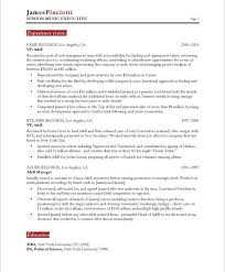 Music Resume Template Adorable Music Resume Template Best Resume Collection