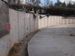 precast concrete soil retaining walls