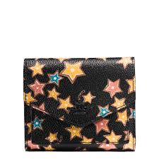 Coach Small Wallet Black Woman Large Discount
