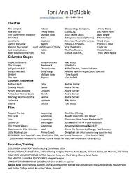 The Incredible Skills For Acting Resume | Resume Format Web
