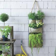 outdoor wall planters ceramic uk hanging bag