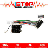 items in 1 stop car audio and accessories store on iso wiring harness for sony dsx a50bt dsxa50bt adaptor cable lead loom plug