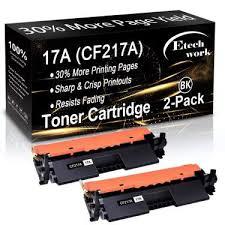 Hp laserjet printer m130a,130nwhp printer m130laser jet printer m130black printer m130hp black printer m130black laserjet printer m130hp laserjet black m130b. 2 Pack Compatible 17a Toner Cartridge Cf217a Used For Hp Laserjet Pro Mfp M130nw M130fw M130fn M102w Printer Black By Etechwork