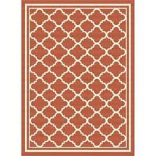 8 x 10 indoor outdoor rug 8 x large orange tile indoor outdoor rug 8 by