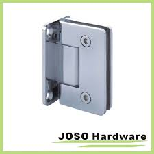 wall to glass wall mount shower hinge 90 degree bh1001
