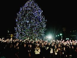 Cbs Christmas Tree Lighting Hundreds Attend Tree Lighting Ceremony Cbs Special Finale