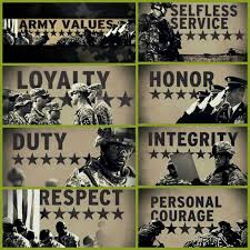 seven army values essay