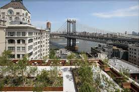 dumbo rooftop gardens with conference