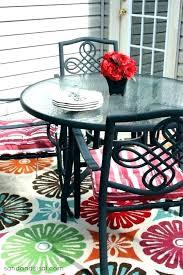 bright outdoor rug fl rugs indoor area