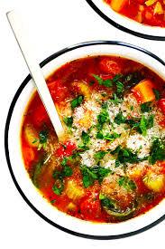 my favorite vegetable soup recipe