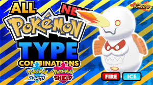 ALL New Unique Type Combinations in Pokémon Sword and Shield! (Generation 8 Unique  Pokémon Typings) - YouTube