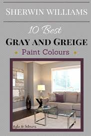 Sherwin Williams Best Gray And Greige Neutral Paint Colours   By Kylie M Interiors  Color Consultant