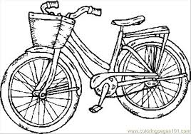 Small Picture Old Bike Coloring Page Free Bikes Coloring Pages