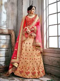 Bridal Lehenga Choli Designs With Price Buy Beige Color Designer Bridal Lehenga Choli And Latest