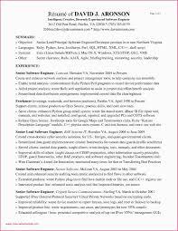 Resume Sample For Software Engineer Experienced Java Developer