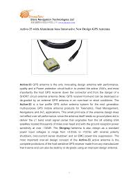 Innovative Antenna Design Active 33 With Aluminum Base Innovative New Design Gps