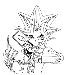 Awesome Yugioh Coloring Pages