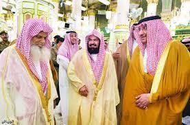 جريدة الرياض | الأمير محمد بن نايف يزور المسجد النبوي