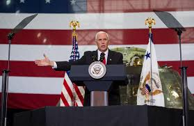 pence calls for new era of space exploration at nasa  advertisement