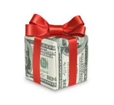 money with red bow 2018 gift tax exclusion