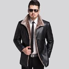 2017 new leather jacket men brand warm winter leather jackets coats high quality jacket fur men xl leather jacket fur men winter leather jacket brand