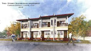 Two Door Apartment Design Four Door Two Storey Apartment A D Cavite City Xjg