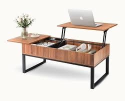 modern lift top coffee table