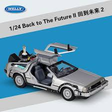 """<b>Welly 1:24 Movie</b> """" ReadyPlayerOne """"Player Back to the Future car ..."""