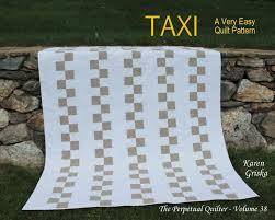 Taxi Easy Quilt Pattern Modern Quilt Pattern Wedding Quilt & 🔎zoom Adamdwight.com