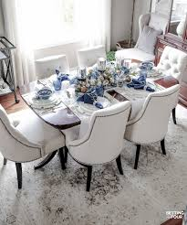 elegant table settings. Learn How To Create These Elegant Fall Table Settings With A Blue And White Color Palette