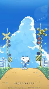 Snoopy スヌーピー夏空 Fondos Y Protector De Pantallas