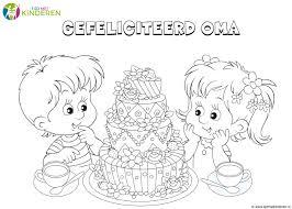25 Bladeren Gefeliciteerd Oma Verjaardag Kleurplaat Mandala