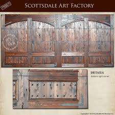 wood double garage door. Garage Door Custom Solid Wood Double With Wrought Iron Clavos, Brackets, And Hardware Designed In Any Style, Wood, Finish,
