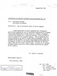 national security action memorandums nsam kennedy nsam 77