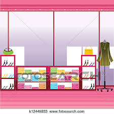 store window clipart. Brilliant Clipart Clipart  Window Display In Store Fotosearch Search Clip Art  Illustration Murals And Store
