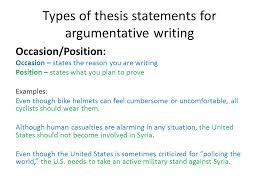 argumentative writing and essay structure ppt 4 types