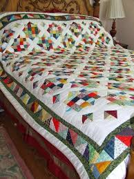 294 best Quilt border ideas images on Pinterest | Comforters ... & Arkansas Crossroads quilt. Block, patterns, and how-to's on the blog. Adamdwight.com
