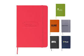 custom printed promotional notebooks custom printed promotional corporate logo journal by trilogy seattle