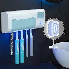 Sạc USB UV Bàn Chải Đánh Răng Máy Tiệt Trùng Bàn Chải Đánh Răng Có Giá Để  Đồ Khử Trùng Bàn Chải Đánh Răng Treo Bàn Chải Đánh Răng Hộp Bụi