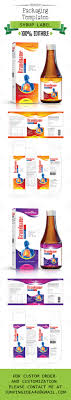 Medicine Syrup Box Design Syrup Label And Box Template Ji 31 Medicine Packaging