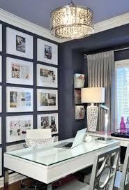 feminine office decor. Gallery Wall On Dark Feminine Office Decor M