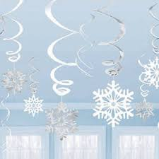 Christmas Snowflakes Pictures Details About Hanging Twirling Snowflake Decorations Metallic Foil Winter Christmas Snowflakes