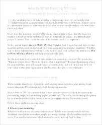 Format For Minutes Writing Writing Minutes Template Board Meeting Sample Format Sample