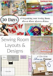 Suzanne Spink Curioussuzanne On PinterestSewing Room Layouts And Designs