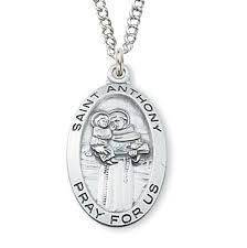 women s st anthony medal sterling silver silver